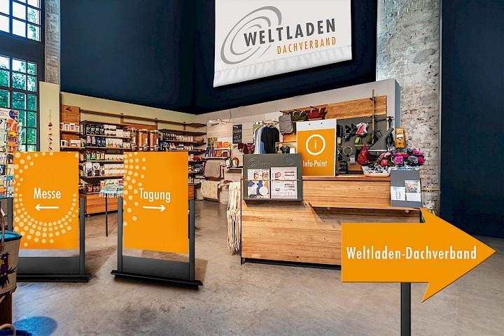 Digitale Lobby der Weltladen-Fachtage 2020.